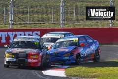 LR Young Walton Crash Excel Bathurst 6 Hour