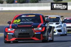 LR Audi 1 TCR TEst Winton