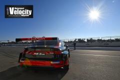 LR Audi 9 TCR Test Winton